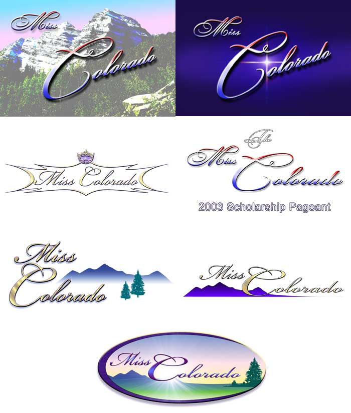 Miss Colorado logo ideas