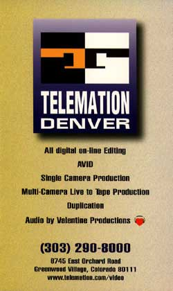 Telemation Productions Ad