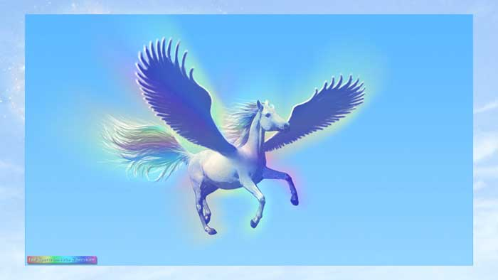 Pegasus in Flight