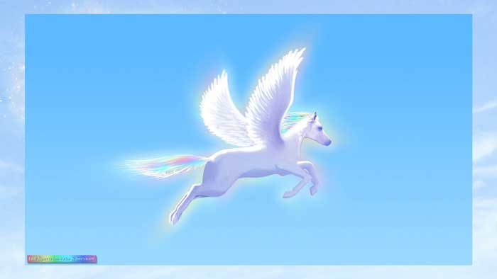 Pegasus Flying