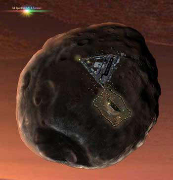 Phobos Base Closeup