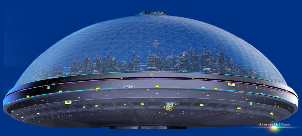 Domed cities of Earth Station